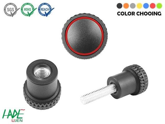 Knurled grip knobs - K300