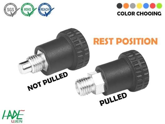 Mini Indexing plungers (rest position) - PSK300F