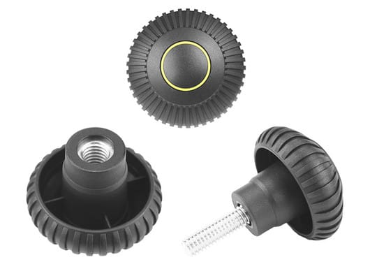 K130 - Fluted grip knobs