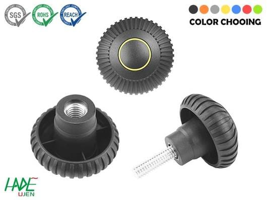 Fluted grip knobs - K130