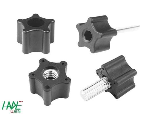 Fluted grip knobs - K285