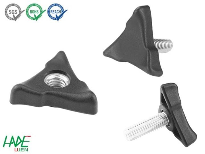 Triangle grip knobs - K330